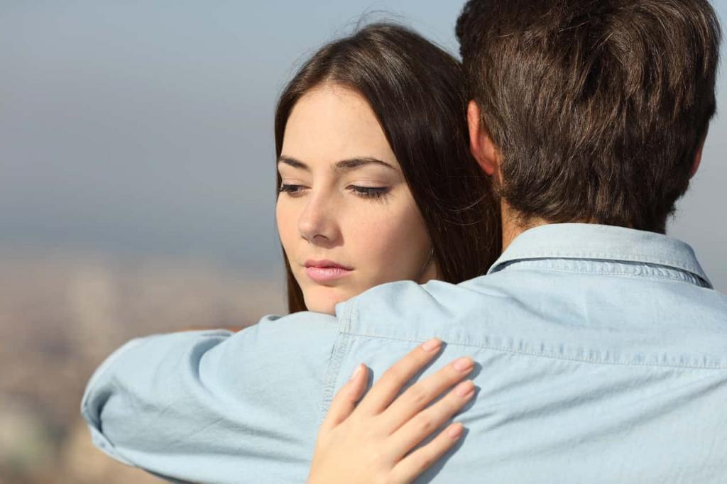 В начале серьезных отношений, когда вы еще не живете вместе