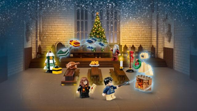 Новогодний Lego про Гарри Поттера